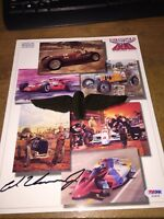 1992 Indy 500 Program Autographed by winner Al Unser Jr! Mint! PSA/DNA Cert!