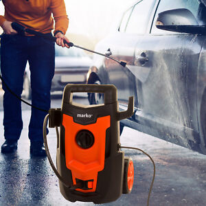 1400W ELECTRIC PRESSURE WASHER POWER JET WASH POWERFUL OUTDOOR CLEANER PATIO CAR