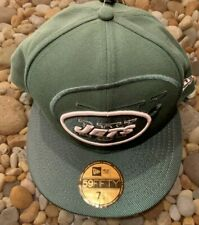 NEW ERA NY JETS FITTED HAT GREEN