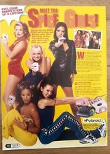 SPICE GIRLS 'meet The SPICE GIRLS' magazine PHOTO/clipping 11x8 inch