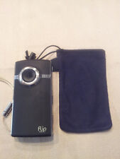 Flip UltraHD Video Camera - Black, 8 GB, 2 Hours (2nd Generation) EUC! AXL