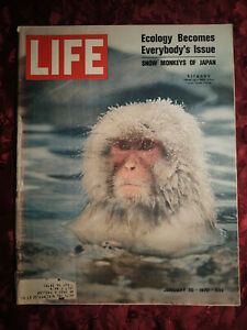 LIFE January 30 1970 Jan 1/30/70 ECOLOGY Environmentalism LAURA NYRO W H AUDEN +