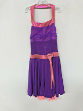 """New """"Bellflower"""" skating/icedance dress size adult extra small"""