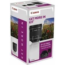 Canon EF-S 10-18 MM F/4.5-5.6 Is Stm Lens Hood EW-73C+LC Kit
