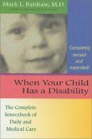 Cuando Su Hijo Tiene un Discapacidad: The Complete Sourcebook de Diario Y