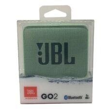 JBL GO2 Tragbarer Bluetooth-Lautsprecher Türkis mit wasserdichten Design