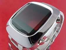 70s 1970s Vintage Style LED LCD DIGITAL Rare Retro Mens Watch 12 & 24 hour c