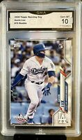 2020 Topps Opening Day GAVIN LUX  #70 Rookie RC GMA 10 Gem Mint LA Dodgers💥💥