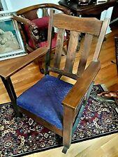Antique Mission Oak Rocking Chair – Gustav Stickley Rocker ??? Arts and Crafts
