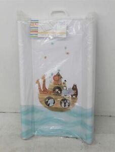 CEBA BABY Noah's Ark PVC Padded Hard MDF Base Baby Changing Mat 80x50cm NEW