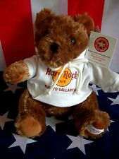 HRC Hard Rock Cafe Puerto Vallarta Sweater Hoodie Bear 2010 Made by Herrington