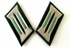 DDR Kragenspiegel Polizei East german Germany collar tabs for police für Uniform