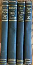 Lot of 4 H/C ~ 1943 books on tools and use by Colvin and Stanley Illlustrated