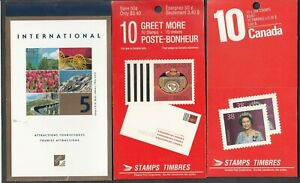 CANADA - 11 MODERN BOOKLETS - FACE ALONE 56$