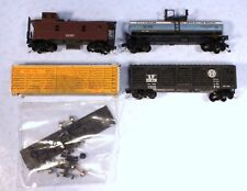 Mixed Lot of N Scale Freight Cars + Caboose - Need Work