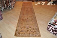 13 Ft. long handmade hall runner Very muted, it is so muted you hardly see it