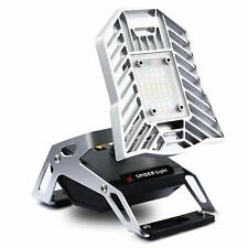Rechargeable Portable LED Spider Mobile Task Light Camp Magnetic Stand USB Port