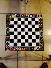 Chess Board w/ Ceramic Handmade Pieces