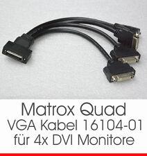Matrox Quad cavo cable kx-20 for DVI monitor 4 P/N 16104-01 for qiu-e128lpa OK