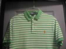 MENS SHORT SLEEVE POLO SHIRT BY POLO RALPH LAUREN SIZE MEDIUM MINT!!