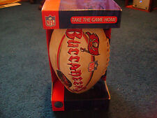 New In Box - Limited Edition Nfl Tampa Bay Buccaneers Football + Bonus