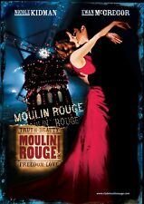 MOULIN ROUGE POSTER FILM A4 A3 A2 A1 LARGE FORMAT CINEMA MOVIE