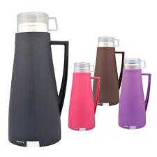 Vaakuum Isolierkanne 1L Thermoskanne Kaffeekanne Teekanne Isolierflasche Thermo