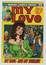 My Love #28  Marvel Comic Book 1974 Stan Lee 1st .25 cent cover  NM