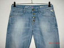 Straight Leg Faded L28 Jeans for Women