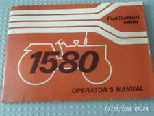 FIAT 1880 AND 1880 DT TRACTOR WORKS MANUAL 1980