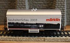 """( H04 ) MÄRKLIN WAGEN  """" NEUHEITEN SCHAU 2003  """" SONDERWAGEN TOP ZUSTAND SELTEN"""