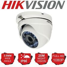 HIKVISION 2MP Camera Dome 1080P 20M EXIR Day/Night IP66 4in1 TVI/AHD/CVI/CVBS UK