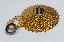 Sunshine MTB Bicycle Flywheel Bike Cassette Cycling Freewheels 9 Speed 11t-32t Gold