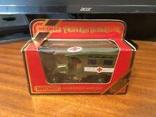 Matchbox Models Of Yesteryear Y-25 1910 Renault Ambulance - Red Box