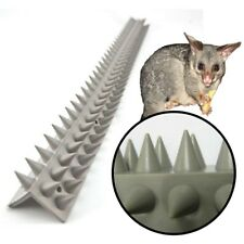 FENCE CAPPING L-SECTION 45cm Cat Possum Spikes Spiked Deterrent Barrier PVC