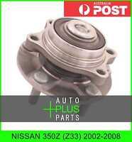 Fits NISSAN 350Z (Z33) 2002-2008 - Front Wheel Bearing Hub