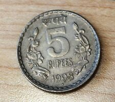 1998 India 5 Rupees