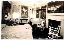RPPC,Bardstown,KY.,Old Talbott Tavern,Oil Paintings Room,Cline Photo,c.1945>