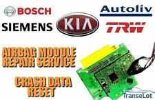 KIA AIRBAG ECU SRS ECU AIRBAG MODULE CRASH DATA RESET REPAIR SERVICE