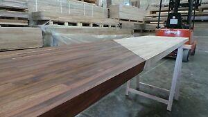 Prime Black American Walnut Solid Wood Worktop 40mm staves, Real Wood Worktops