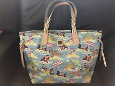Disney Dooney & Bourke Aulani Fab Five Nylon Beach Shopping Bag Tote Satchel NWT