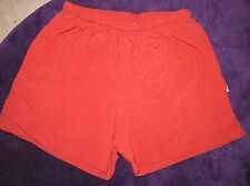 REI Women's Rust/Brick Red Color Shorts Size XL