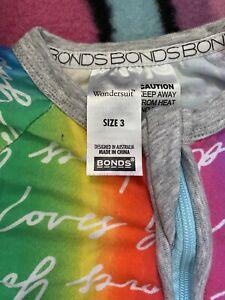 bonds wondersuit size 3. 3 Suits In This Bundle