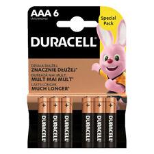 6 x Duracell AAA Alkaline Batteries LR03 MN2400 HR03 Long Lasting EXPIRY 2029
