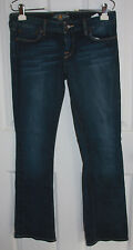 Lucky Brand Blue Jeans Lola Boot 6/28 Regular Cotton Blend Stretchy