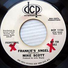 MIKE SCOTT northern soul rocker 45 promo FRANKIE'S ANGEL THE OLD BUG vg++ e0976