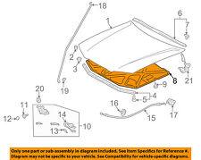TOYOTA OEM 97-01 Camry Hood-Insulation Pad Liner Heat Shield 5334106031