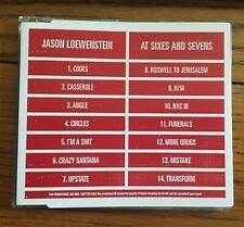 Jason Loewenstein (Sparkalepsy) - At Sixes And Sevens, Promo CD Domino Recs
