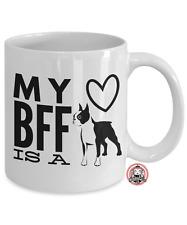 My BFF is a BOSTON TERRIER Coffee Mug by Monkeytailz Great Gift Idea
