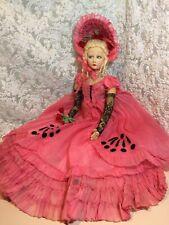 "Lenci Boudoir Doll W/ Repairs & New Body 26"""